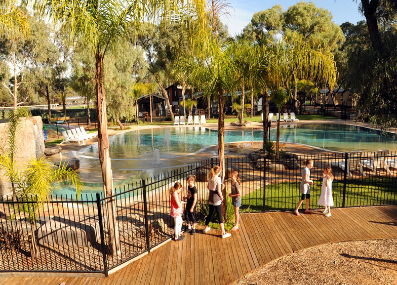 BIG4 Renmark Riverfront Caravan Park - Dalby Accommodation