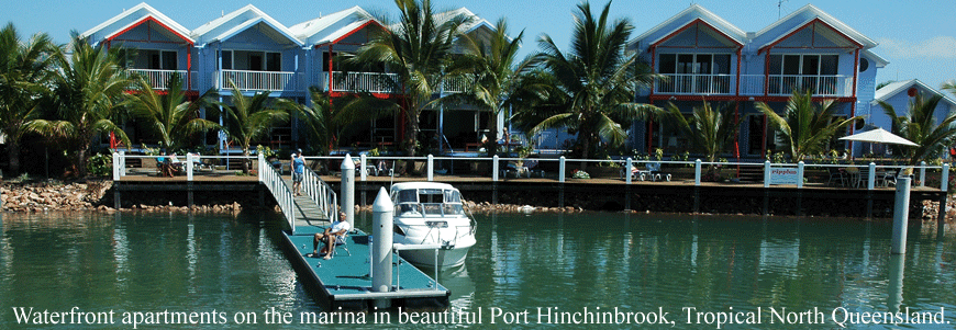 Ripples On The Marina Port Hinchinbrook - Dalby Accommodation