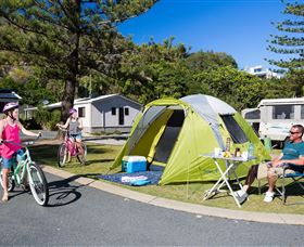 Ocean Beach Tourist Park - Dalby Accommodation