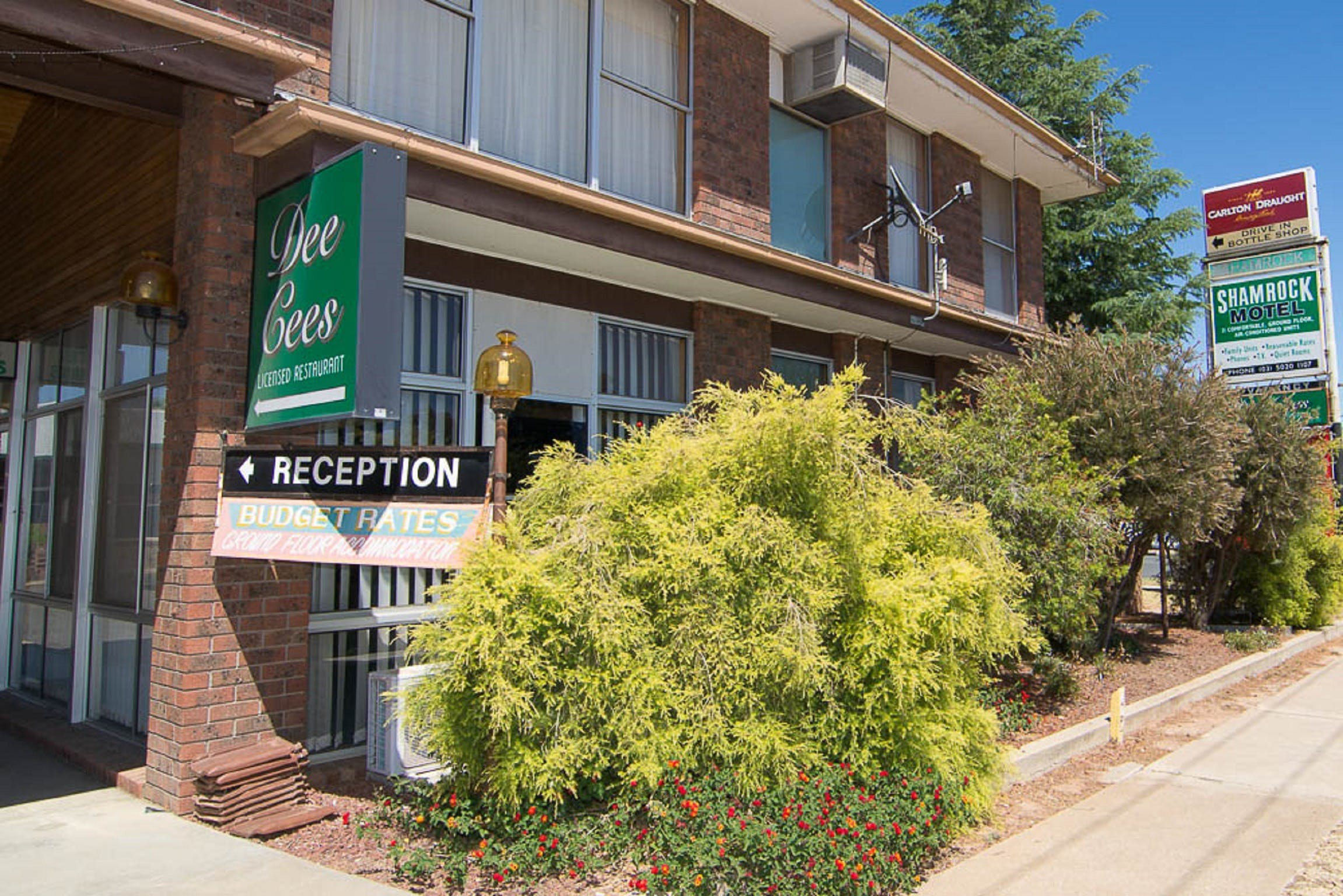 Shamrock Motel Balranald - Dalby Accommodation