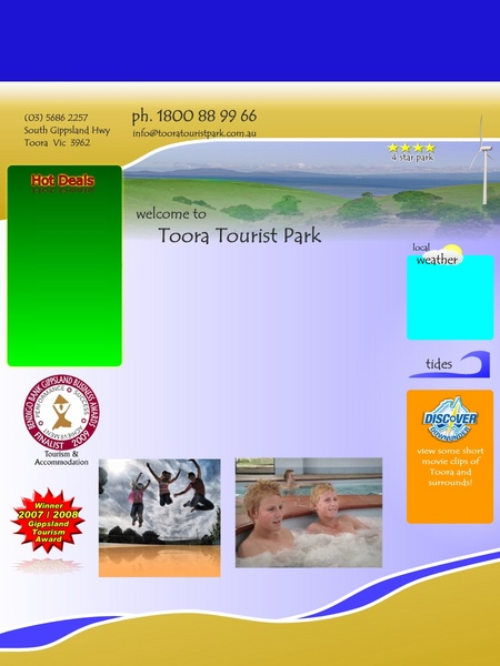 Toora Tourist Park - Dalby Accommodation